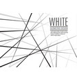 random chaotic lines abstract geometric pattern vector image vector image