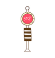 A stop sign vector image vector image