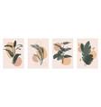botanical wall art set