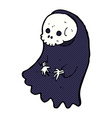 comic cartoon spooky ghoul vector image vector image