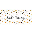 fall autumn season banner vector image vector image