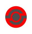 gigital technology colored logo hi-tech vector image vector image