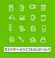 kitchen home appliances vector image vector image