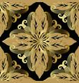 ornate baroque seamless pattern ornamental vector image vector image