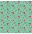 Print lines triangle vector image vector image