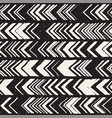 seamless freehand pattern doodle monochrome print vector image vector image