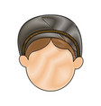 shepherd face manger character image vector image vector image