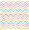 colorful grunge chevron seamless pattern vector image