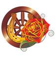 gypsy logo vector image