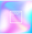 iridescent background vector image