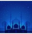 Magic arabian night vector image