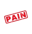Pain Rubber Stamp vector image vector image