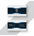 professional business card elegant template vector image vector image