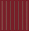 red stripe fabric texture seamless pattern vector image vector image