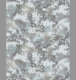 seamless digital camouflage pattern vector image vector image