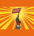 start sale starter pistol vector image