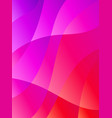 abstract dynamic colors gradient background fluid vector image vector image