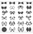 Bows Icons vector image