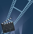 film tape movie vector image vector image