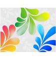 floral background for design vector image vector image