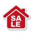 house property isolated icon vector image