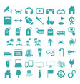 icons set icons for graphic and web design vector image vector image