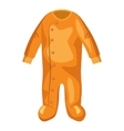 Jumpsuit for baby icon cartoon style vector image vector image