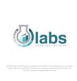 labs logo designs vector image vector image