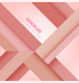 modern geometric composition pink background vector image vector image