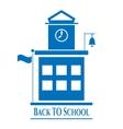 Picture of school building vector image vector image