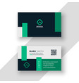 professional brand business card modern template vector image vector image