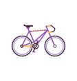 road bike modern bicycle vector image vector image