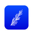 rosemary spice icon digital blue vector image