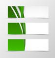 set header banner digital design vector image vector image