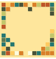 squares template background vector image vector image
