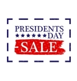 Presidents Day Sale Icon stock vector image