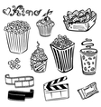 Cinema movie film vector image vector image