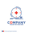 company name logo design for clinical digital vector image vector image