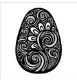 Holiday Ornate Easter Egg vector image vector image