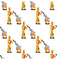 image pattern firefighter fire extinguisher vector image