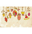 Kids banner on the paper funny vector image vector image