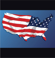 map united states america states vector image