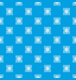 microprocessor pattern seamless blue vector image