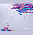 modern banner with gradient bright colorful vector image vector image