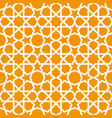 seamless ornamental pattern in arabic style vector image