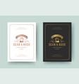 wedding invitation save date card golden vector image