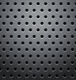 grid round dots hexagon vector image