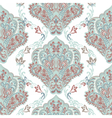 Vintage oriental ornament pattern vector image