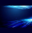 abstract futuristic motion background vector image vector image