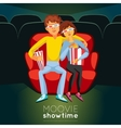 Cinema Time vector image vector image